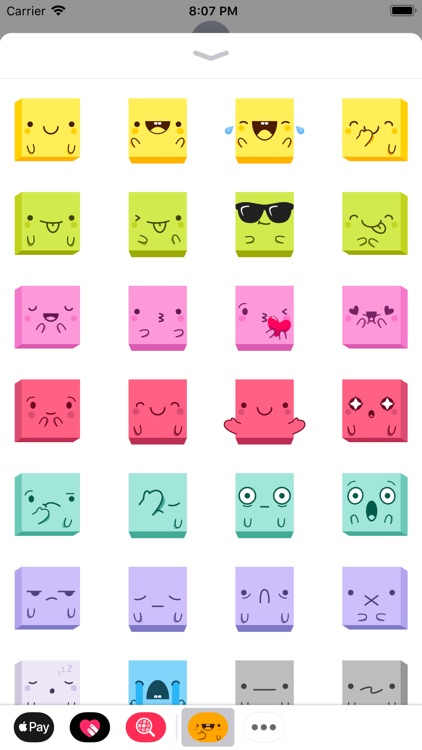 Cubies Animated Stickers