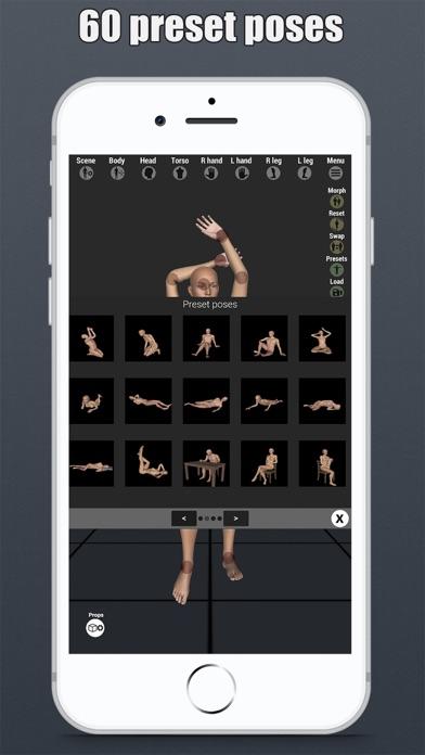 Art Model - Pose & morph tool - App - app of today AppStore