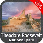 Theodore Roosevelt National Park - Topo icon