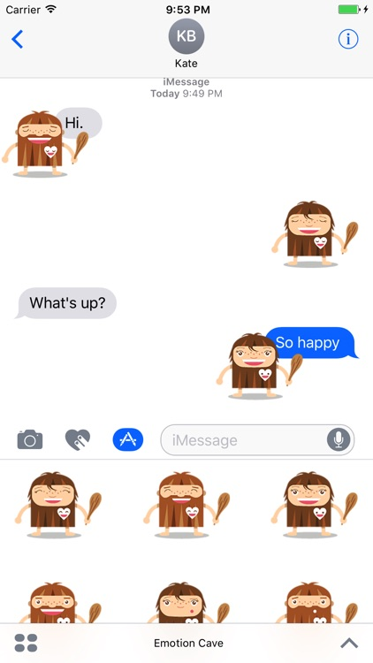 Emoticon Cave - Stickers screenshot-0