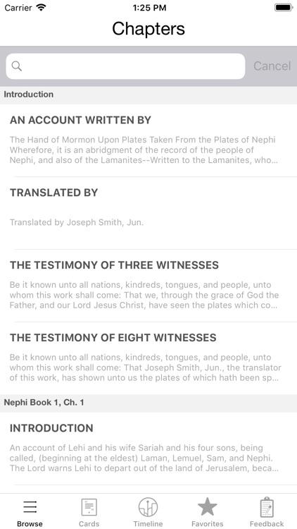 Book of Mormon LDS
