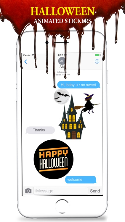 Halloween Stickers Animated screenshot-3