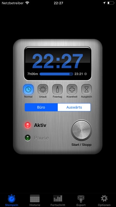 Screenshot for Übertime in Austria App Store