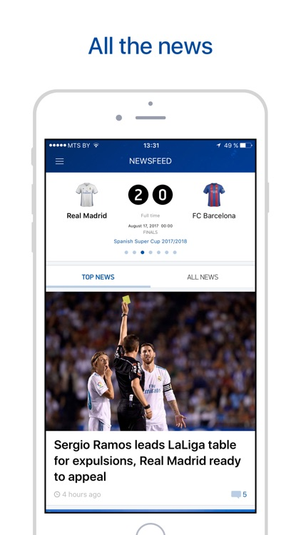 Real Live – Scores & Results. screenshot-0
