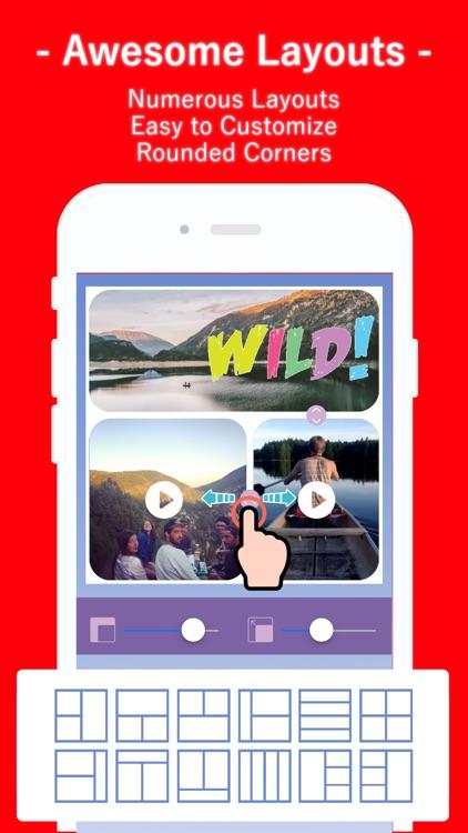 Collage Photo & Video Maker screenshot-4