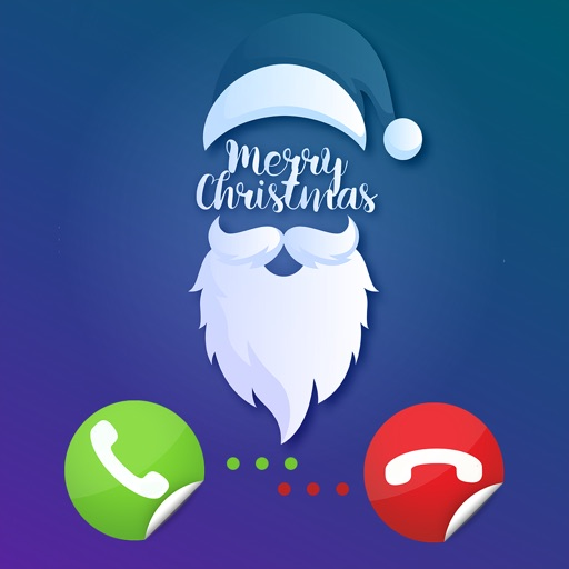 Fake Video Call Santa Claus