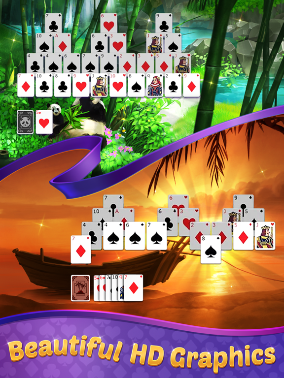 TriPeaks Solitaire with Themes screenshot 7