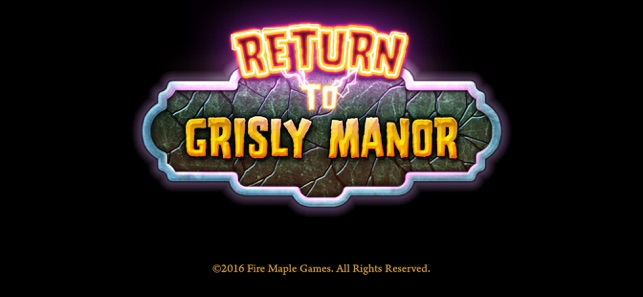 Return to Grisly Manor Screenshot