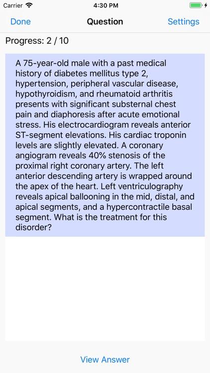 Cardiology Board Reviews screenshot-3