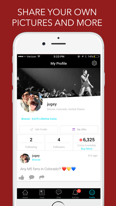 Maroon 5 Community Screenshot