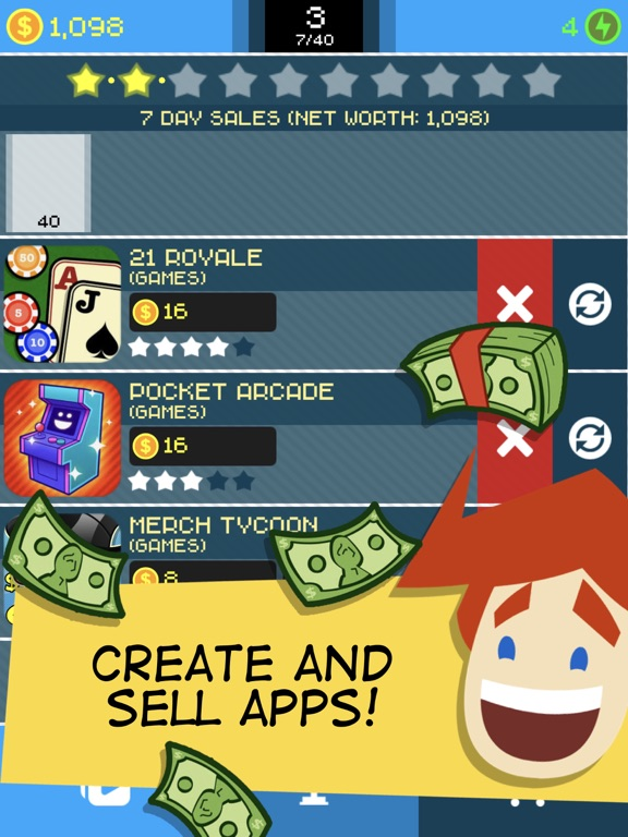iPad Image of App Tycoon
