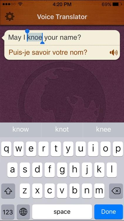 Translate Voice + screenshot-3