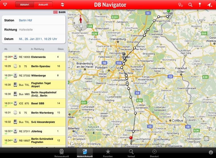 DB Navigator for iPad screenshot-3