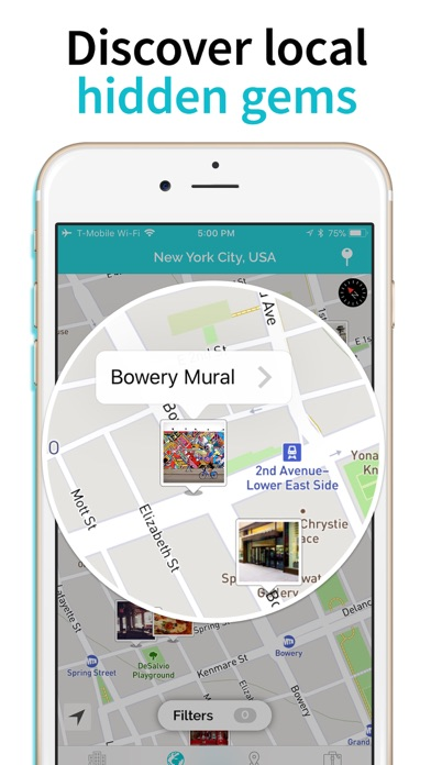 Screenshot for TripScout - City Trip Planner in United States App Store
