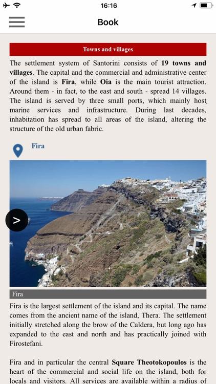Santorini topoguide