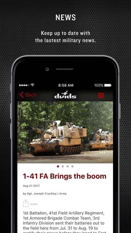 Military 24/7 for iPhone