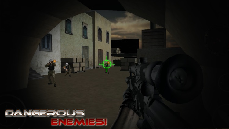 Sniper Trigger: US Bravo Assassin Critical Strike screenshot-3
