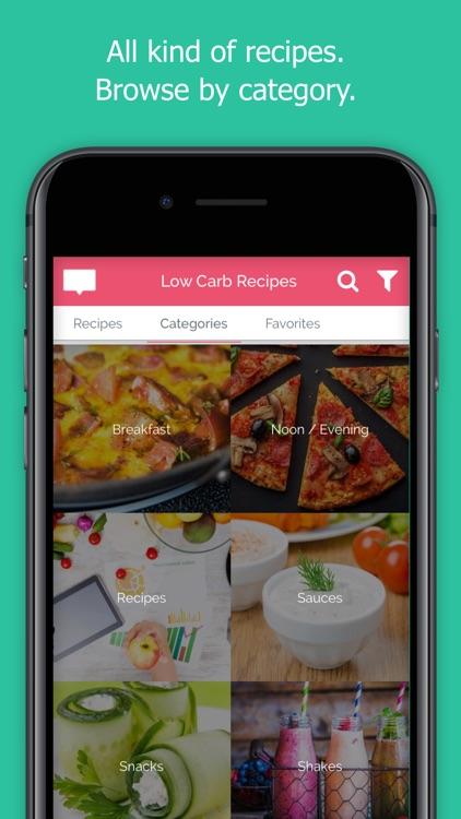 Low Carb Recipes & Meal Plan screenshot-4