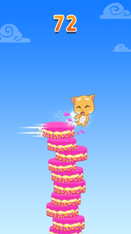 Talking Tom Cake Jump screenshot-4