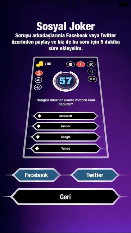 Kim Milyoner Bilgi Yarışması screenshot-4