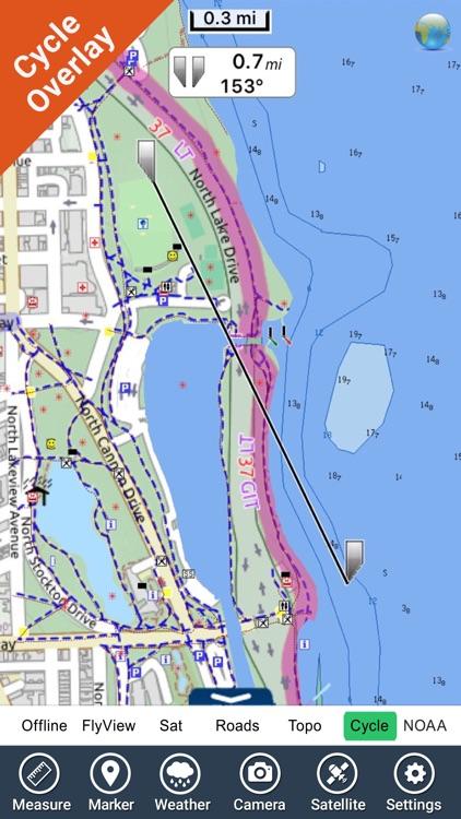 Lincoln Park (Chicago) - GPS Map Navigator screenshot-4