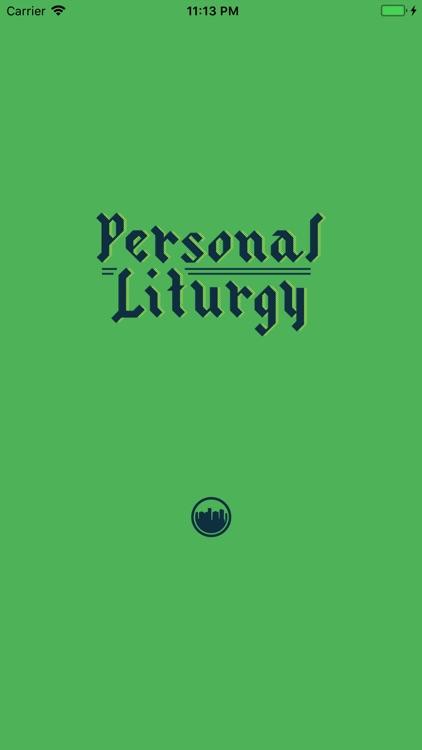 Personal Liturgy