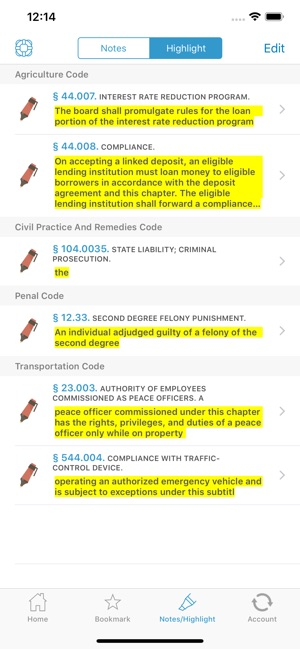 TX Laws, Texas Statutes Codes on the App Store