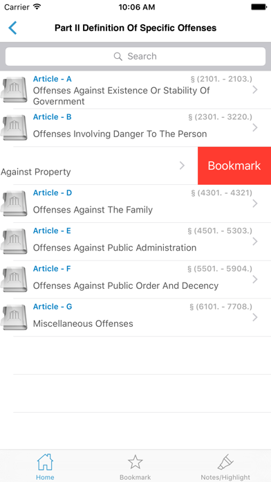 PA Crimes Offenses Title 18 screenshot four