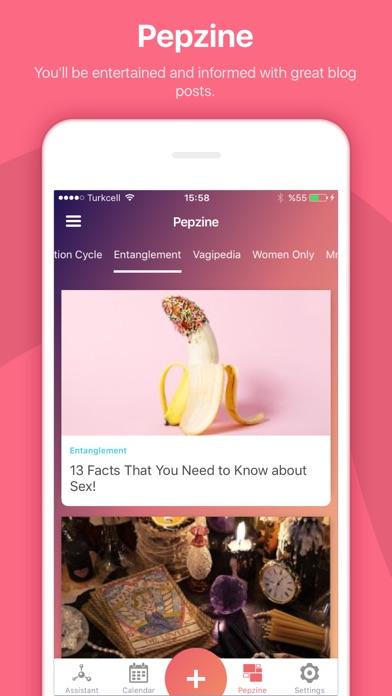 Pepapp - Period Tracker screenshot
