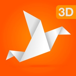 Animated 3D Origami 4 Step By Instructions