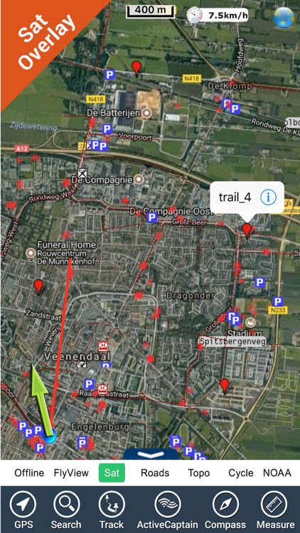 Utrechtse Heuvelrug NP GPS Map