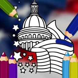 United States Coloring Book