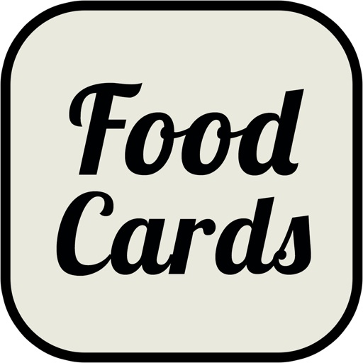 Food Cards in English