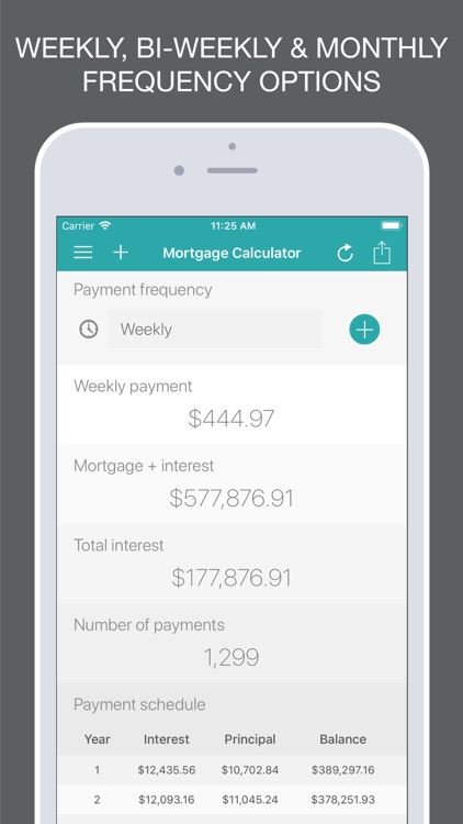 Mortgage Calculator + screenshot-3