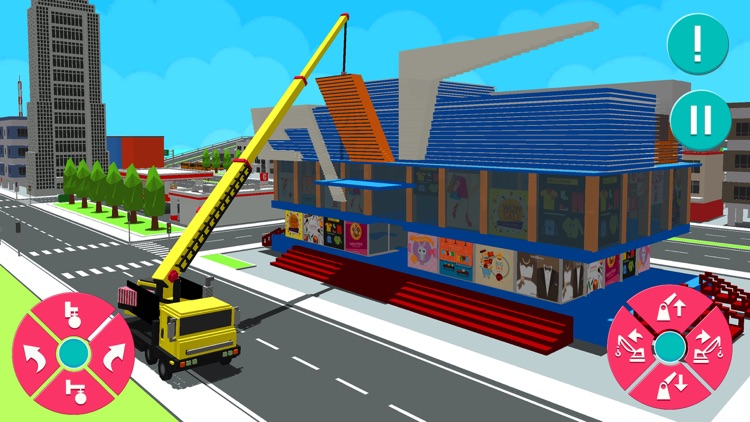 Shopping Mall Construction 3D screenshot-4