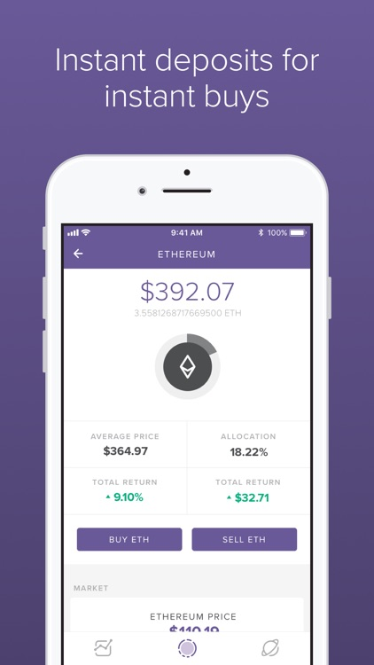 Circle Invest: Cryptocurrency screenshot-3