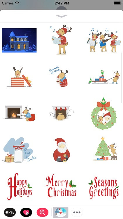 Xmas Sticker screenshot-3