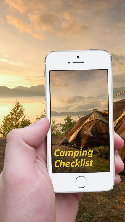 Camping_Checklist screenshot-0