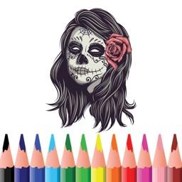 Halloween Colouring Book