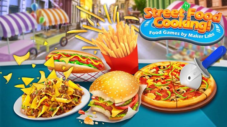 Street Food Fun Cooking Games screenshot-0