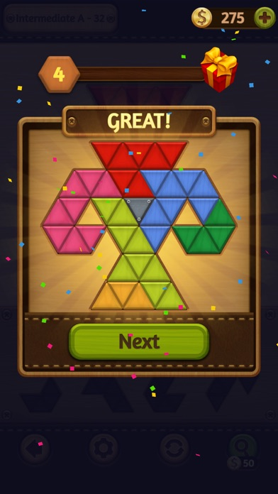 Block Puzzle: Wood Collection screenshot 6