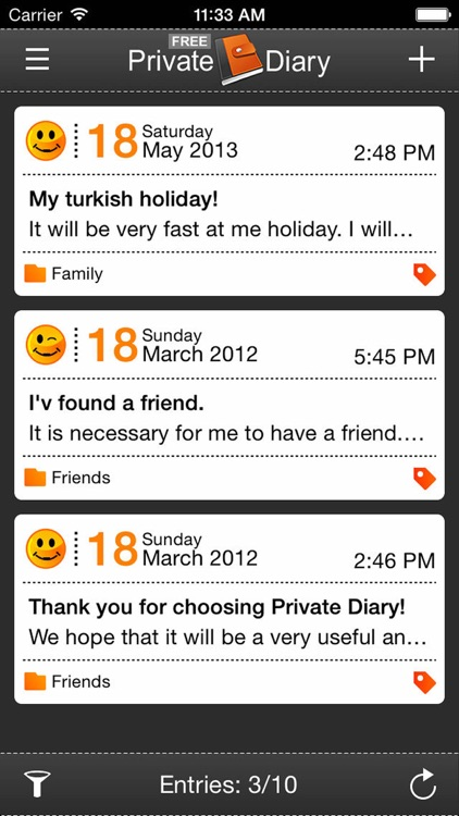 Private Diary Lite
