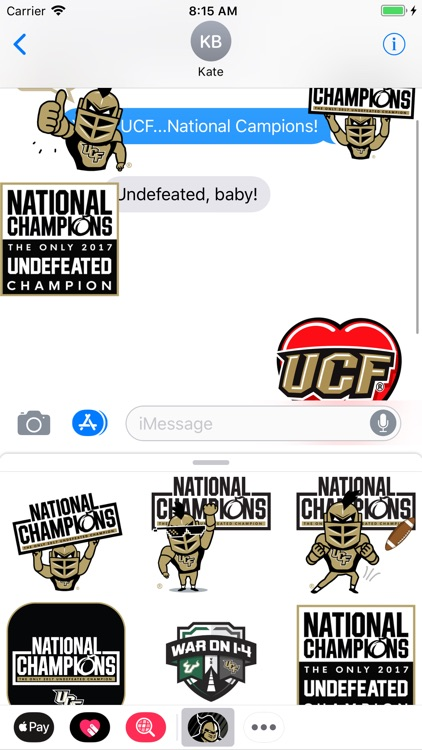 UCF® Stickers screenshot-6