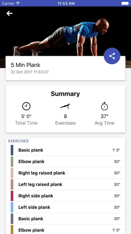 5 Minute Plank Abs Challenge screenshot-4