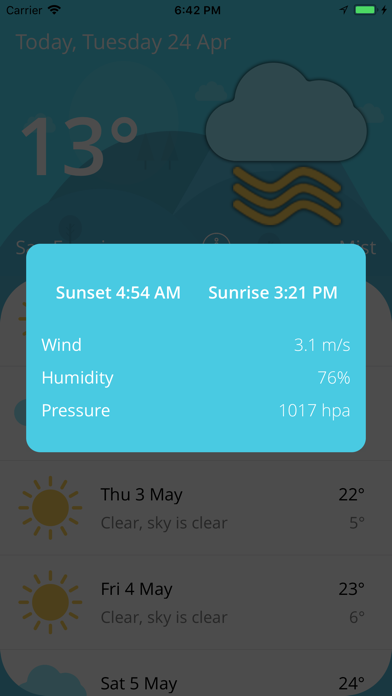 Weather - Live Forecast screenshot two