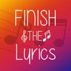 Beende den Song Text icon