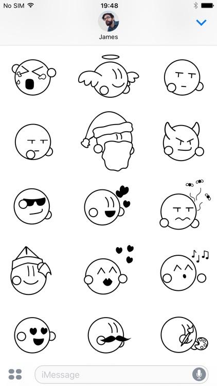 Chubby Mojis - Animated Sticker