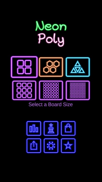Neon Poly - Hexa Puzzle Game screenshot-3