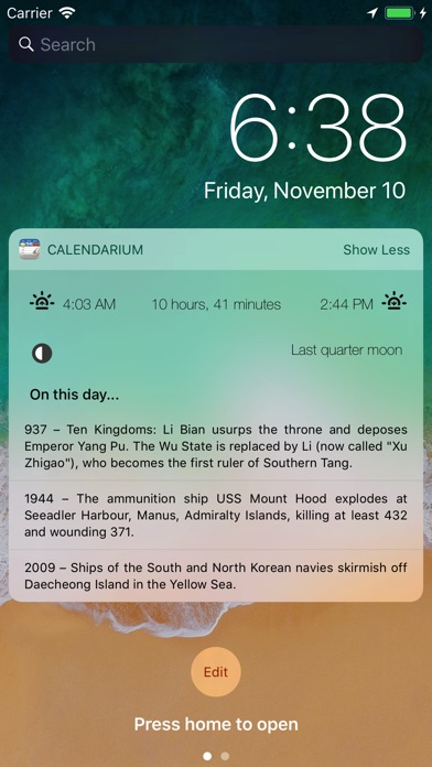 Calendarium - About this Day Screenshot