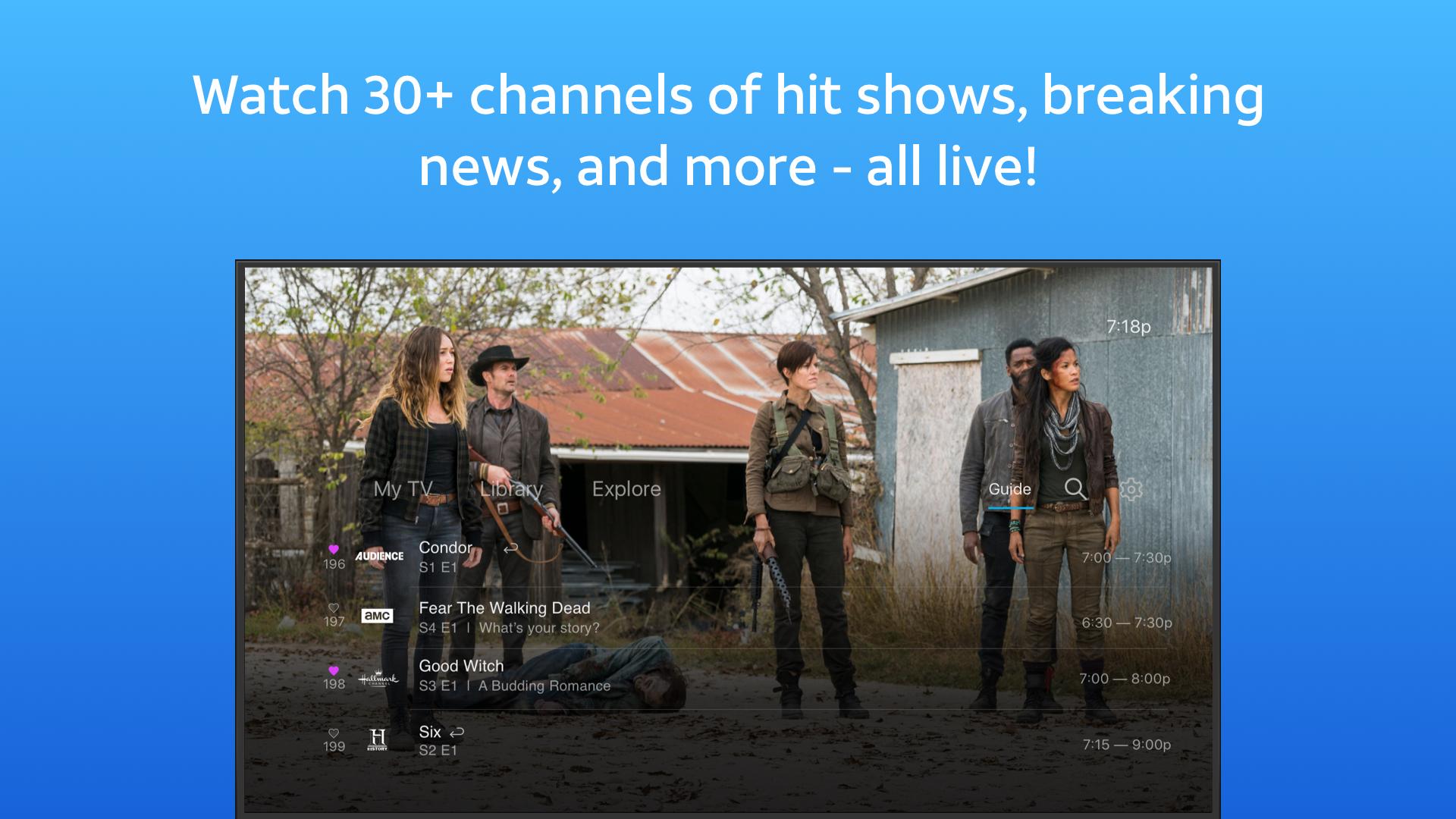 AT&T WatchTV screenshot 10
